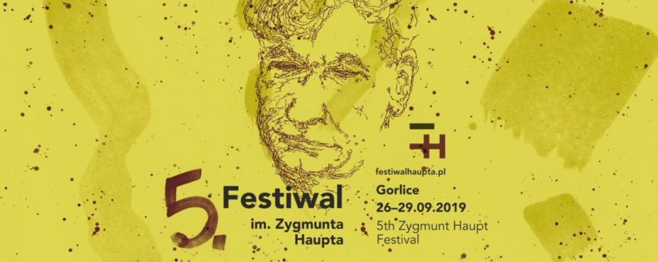 5. FESTIWAL IM.ZYGMUNTA HAUPTA — WSPIERAM TO!