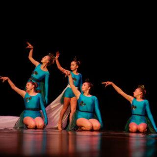 Zespół Taneczny Trik podczas występu