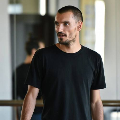 instruktor tańca Maciej Kuźmiński