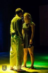 Występ Teatru Eksperymentalnego GCK ERGO podczas XXXIV Jesiennego Gorlickiego Konkursu Recytatorskiego